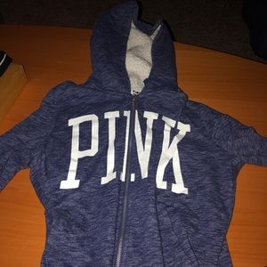 Purple Victoria secret pink hoodie